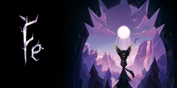 Afbeelding van de game Fe met hoofdpersonage