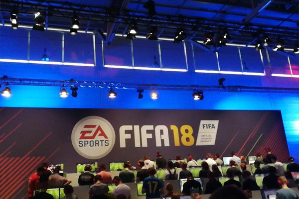 FIFA 18 op Gamescom 2017