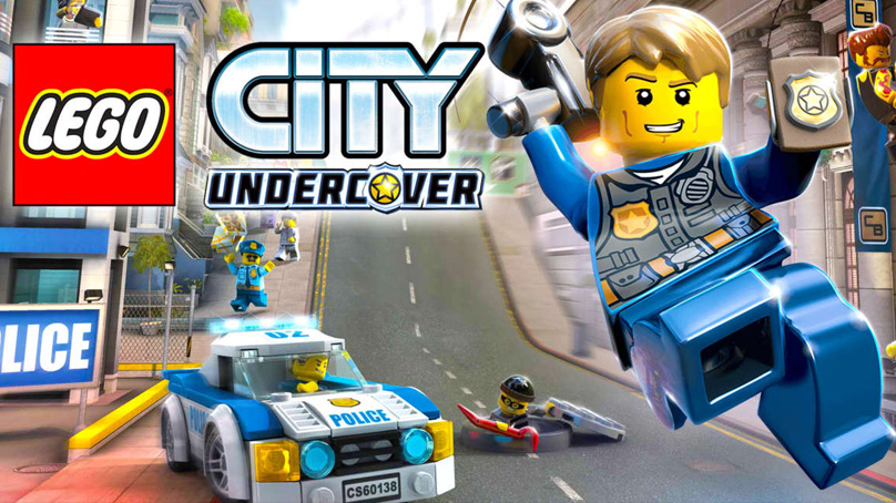 Sfeerbeeld LEGO City Undercover met Chase McCain