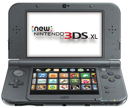 Afbeelding van een New Nintendo 3DS XL