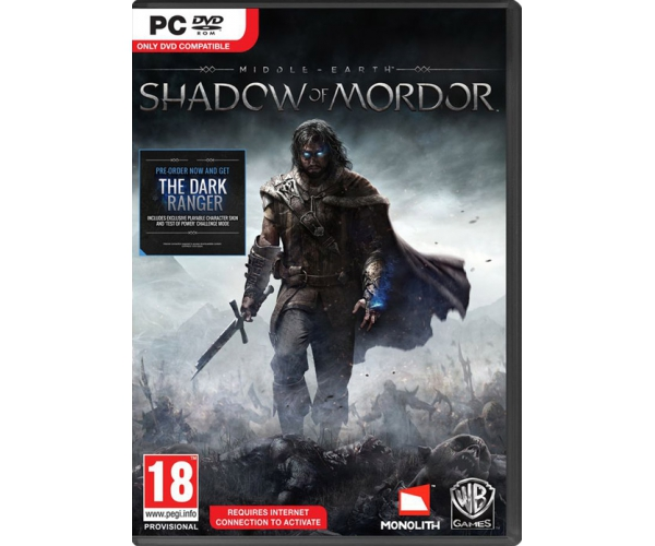 Shadow of Mordor PC DVD