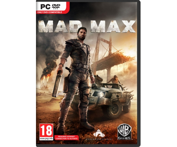 Mad Max PC DVD