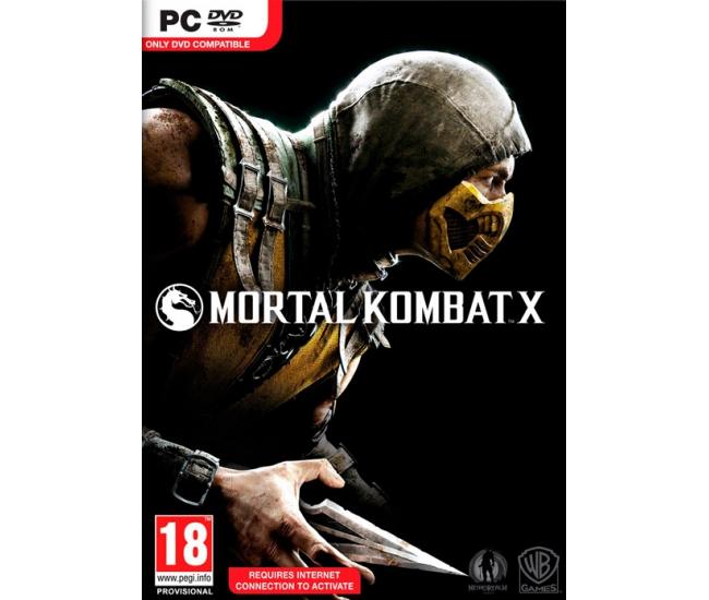 Mortal Kombat X PC DVD