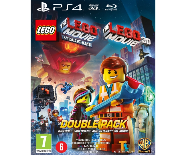 The LEGO Movie Videogame (PS4)  + The LEGO Movie (2D & 3D Blu-ray)