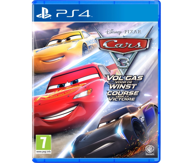 Cars 3: Vol Gas voor de Winst PS4