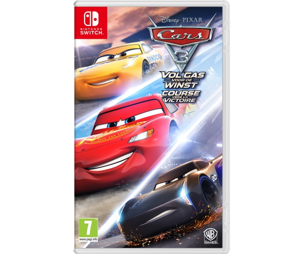 Cars 3: Vol Gas voor de Winst Switch