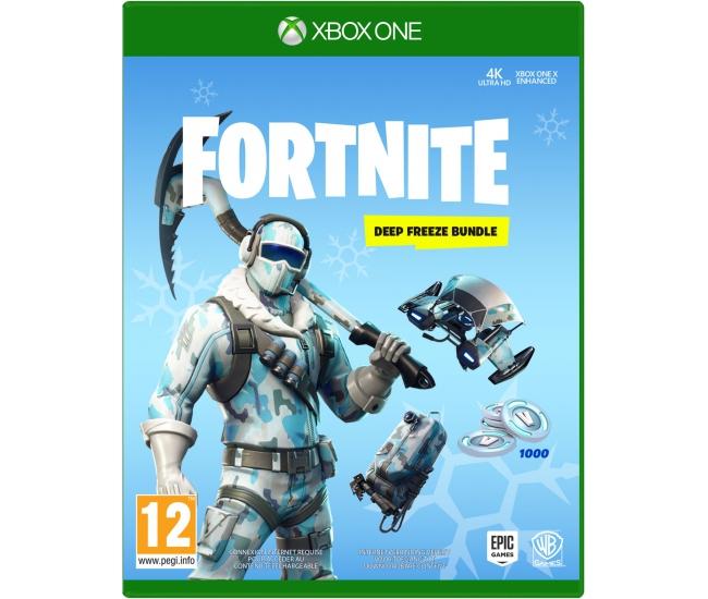 Fortnite Deep Freeze Bundle - Xbox One (code in a box)