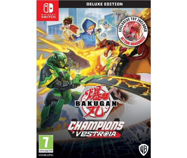 Bakugan: Champions of Vestroia - Deluxe Edition - Switch