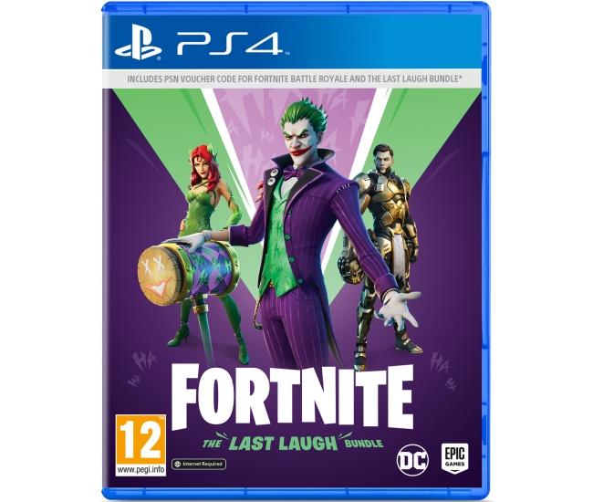 Fortnite: The Last Laugh Bundle - PS4
