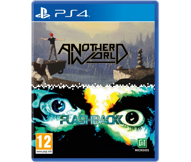 Another World x Flashback 2-in-1 Pack - PS4