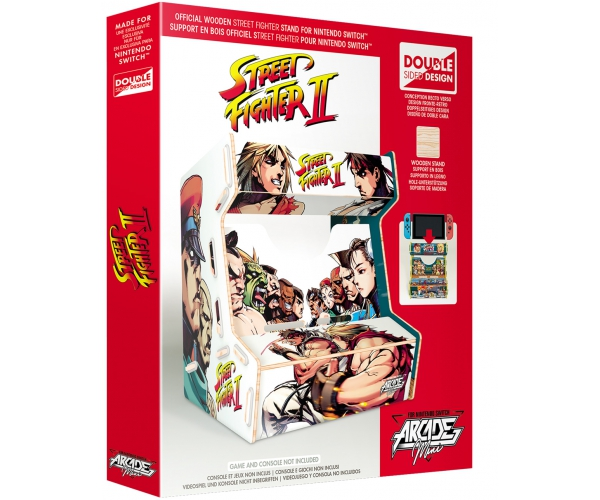 Arcade Mini Street Fighter - Switch