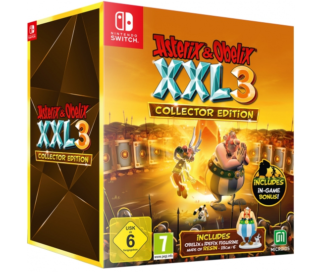 Asterix & Obelix XXL 3: The Crystal Menhir Collector's Edition - Switch