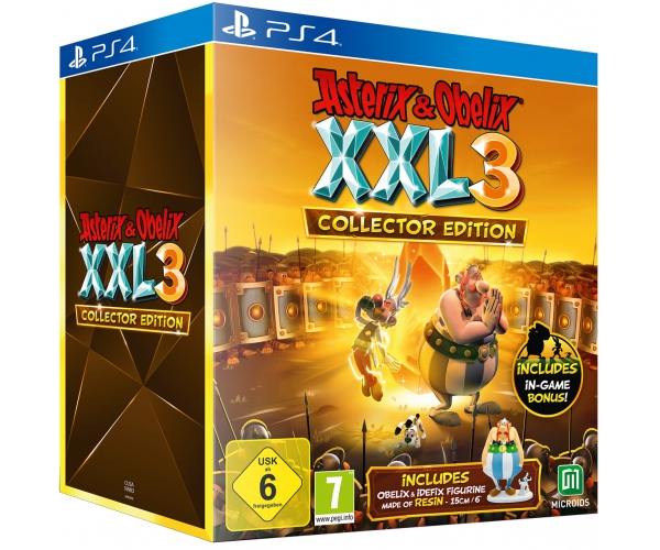 Asterix & Obelix XXL 3: The Crystal Menhir Collector's Edition - PS4