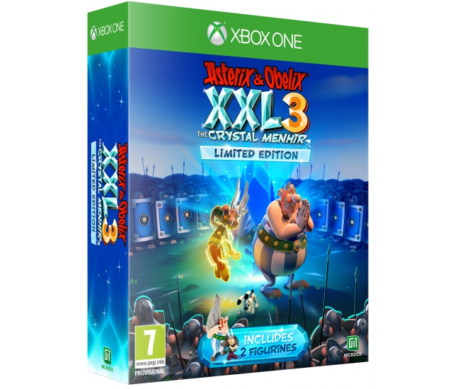 Asterix & Obelix XXL 3: The Crystal Menhir Limited Edition - Xbox One
