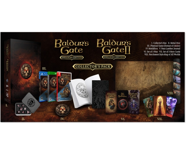 Baldur's Gate Collector's Pack - Switch
