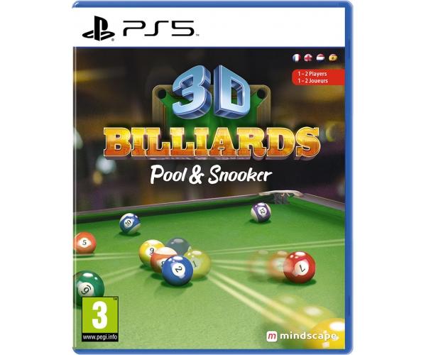 3D Billiards: Pool & Snooker - PS5