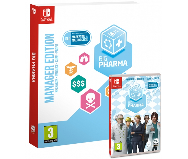 Big Pharma: Manager Edition - Switch