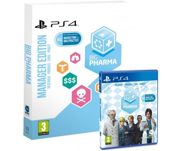 Big Pharma: Manager Edition - PS4