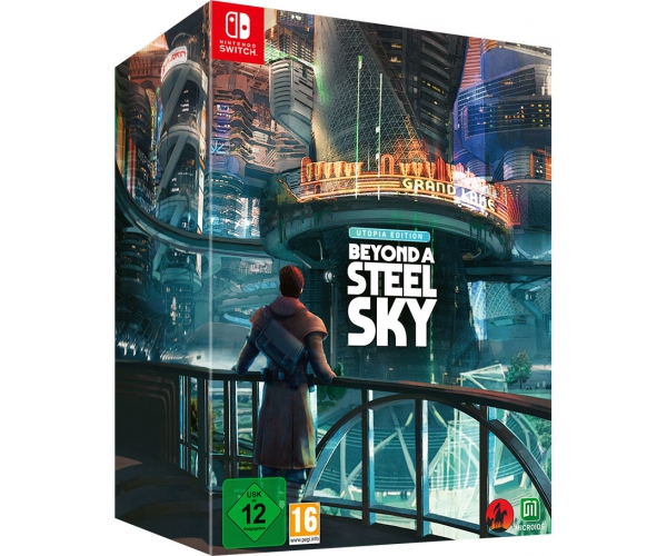 Beyond a Steel Sky - Utopia Edition - Switch