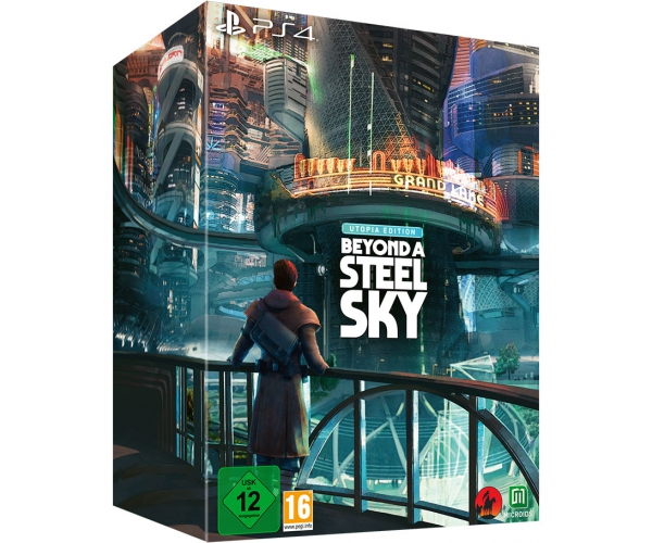 Beyond a Steel Sky - Utopia Edition - PS4