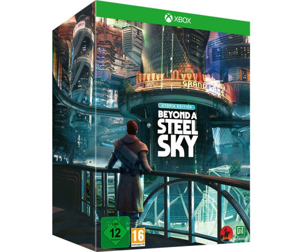 Beyond a Steel Sky - Utopia Edition - Xbox Series X / Xbox One