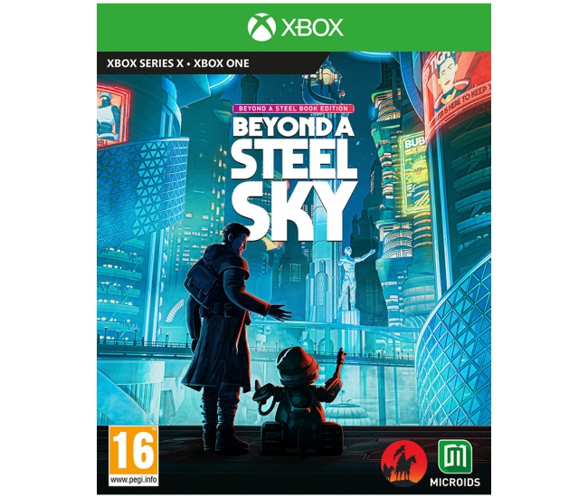 Beyond a Steel Sky - Beyond a Steelbook Edition - Xbox Series X / Xbox One