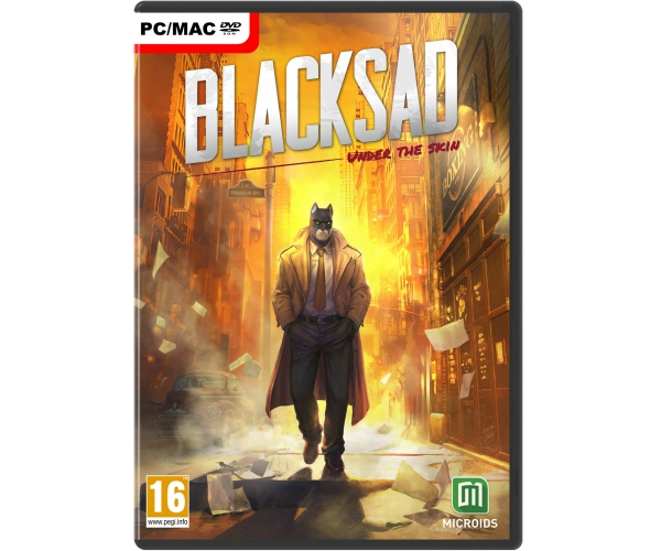 Blacksad: Under The Skin - PC DVD