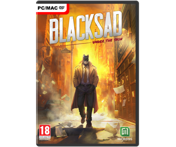 Blacksad: Under The Skin - PC DVD