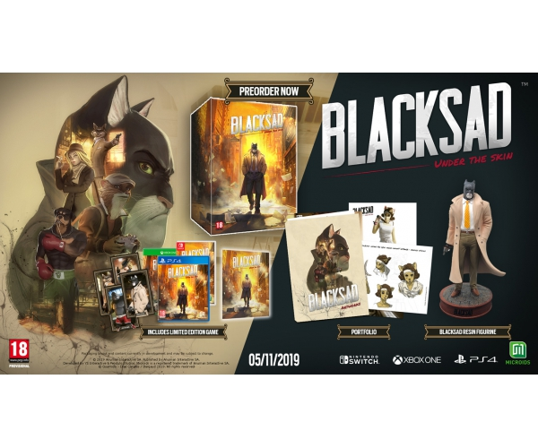 Blacksad: Under the Skin Collectors Edition - Switch