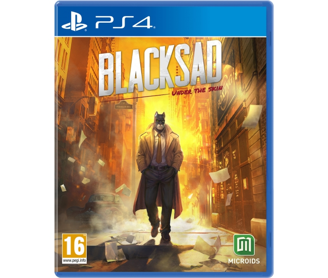Blacksad: Under the Skin Limited Edition - PS4
