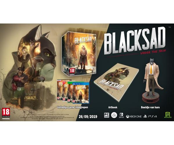 Blacksad: Under the Skin Collectors Edition - PS4