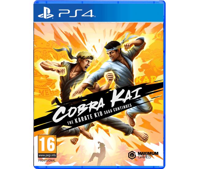 Cobra Kai: The Karate Kid Saga Continues - PS4
