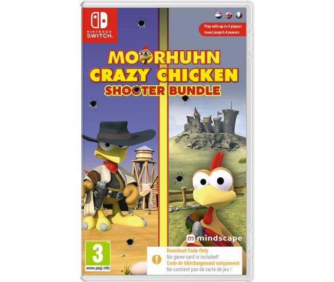 Moorhuhn Crazy Chicken: Shooter Bundle - Switch (Code in a Box)