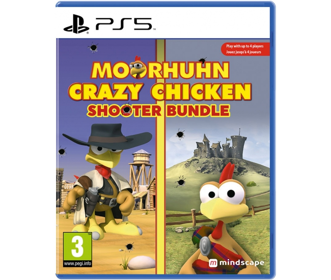 Moorhuhn Crazy Chicken: Shooter Bundle - PS5
