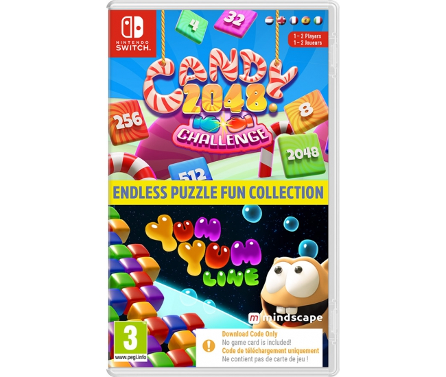 Endless Puzzle Fun Collection - Switch (Code in a Box)