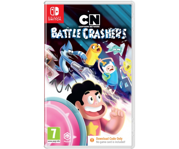 Cartoon Network Battle Crashers - Switch (Code in a Box)