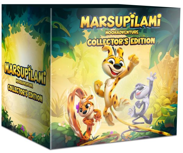 Marsupilami: Hoobadventure Collector's Edition - Switch