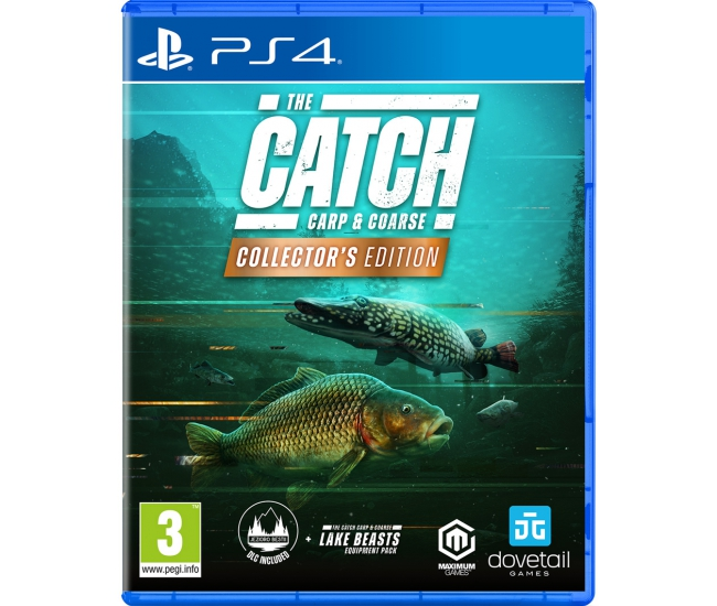 The Catch: Carp & Coarse Collector's Edition - PS4