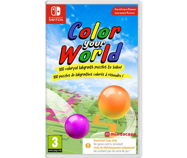 Color Your World - Switch (Code in a Box)