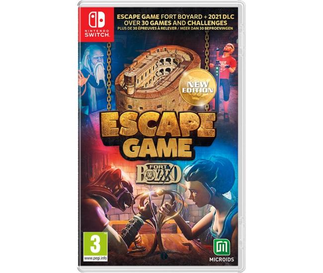 Escape Game: Fort Boyard 2021 - Switch