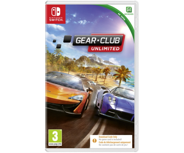 Gear.Club Unlimited - Switch (Code in a Box)