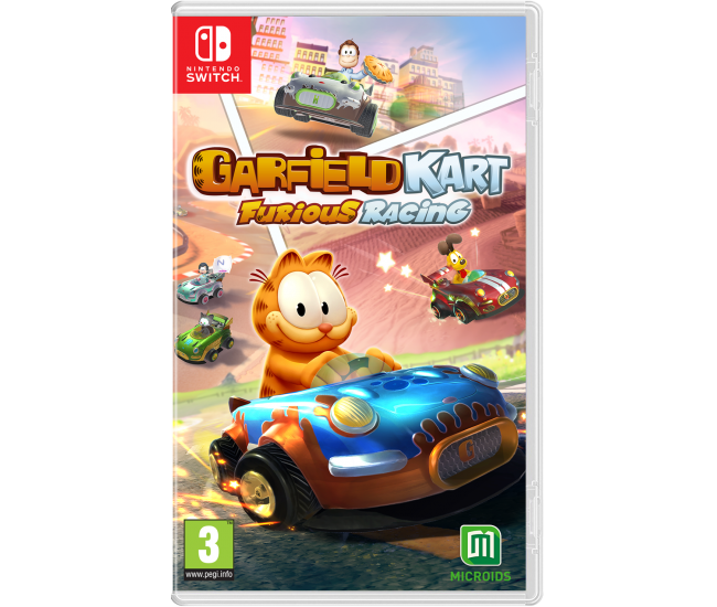 Garfield Kart Furious Racing - Switch