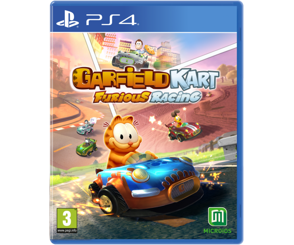 Garfield Kart Furious Racing - PS4