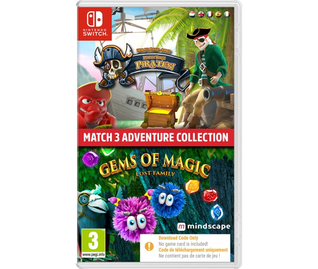 Match 3 Adventure Collection - Switch (Code in a Box)