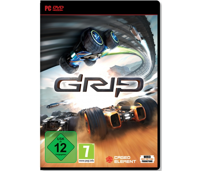 GRIP: Combat Racing PC DVD