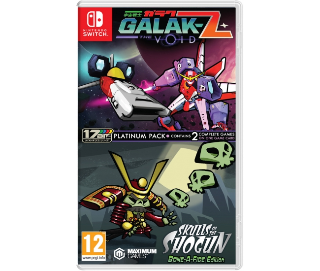 Galak-Z - Skulls of the Shogun: Platinum Collection - Switch