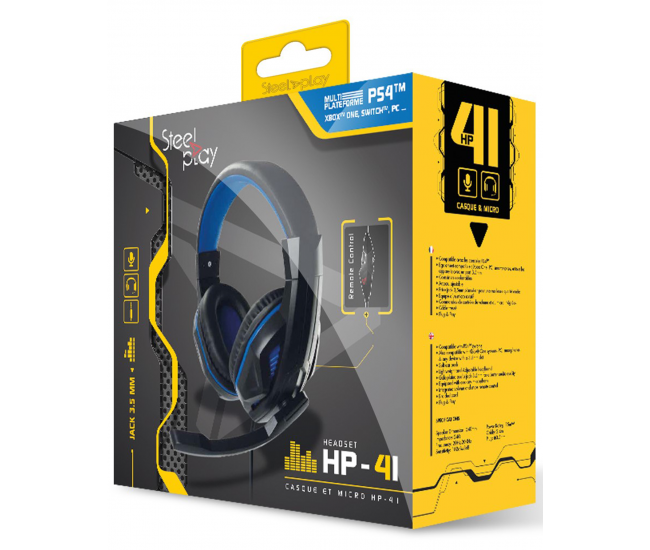 Steelplay HP-41 Gaming Headset - PS4 / Switch / Xbox One / PC