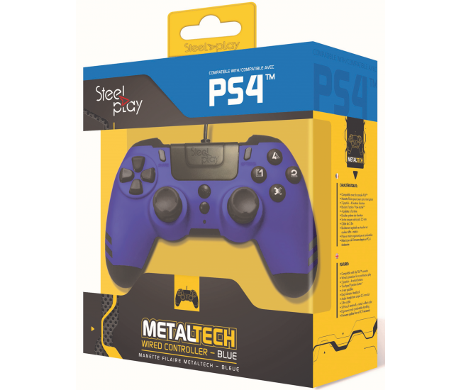 Steelplay MetalTech Wired Controller - Sapphire Blue