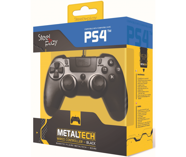 Steelplay MetalTech Wired Controller - Ebony Black