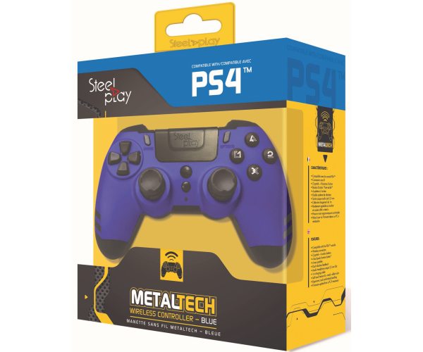 Steelplay MetalTech Wireless Controller - Sapphire Blue